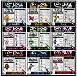 Dry Erase Parts of Speech Workbook Bundle ~Digital Download~